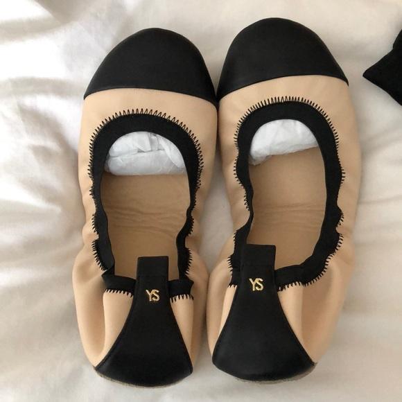 Yosi Samira Cap Toe Samantha Flats - Size 8